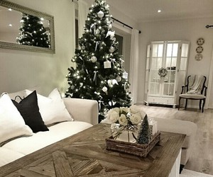 christmas, cozy, and decorations image