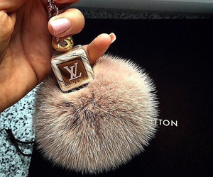 key ring, Louis Vuitton, and LV image