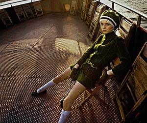 twiggy, fashion, and girl image