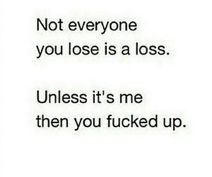 funny, lose, and quote image