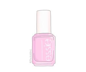 make-up, nailpolish, and pink image