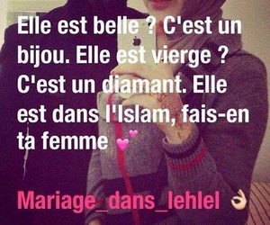 femme, islam, and rappel image