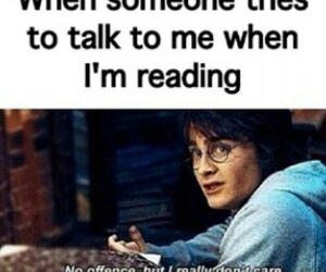 harry potter and reading image
