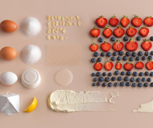strawberry, blueberry, and eggs image