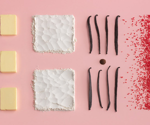 food, butter, and pink image