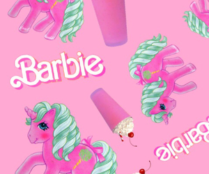 barbie, pink, and my little pony image