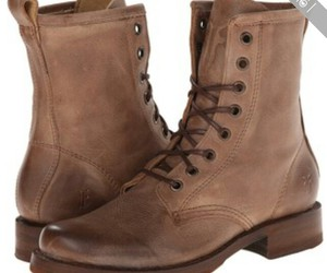boots, pretty, and brown image