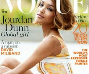 Jourdan Dunn, model, and vogue image