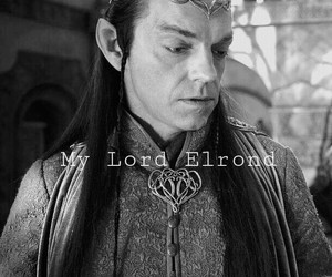 hobbit, LOTR, and elrond image