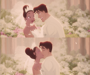 disney, tiana, and naveen image