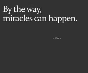miracles and quote image