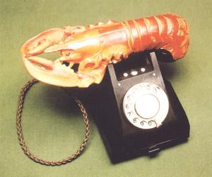 dali, salvador dali, and lobster image