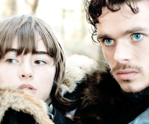 game of thrones, robb stark, and bran stark image