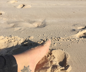 art, beach, and beautiful image