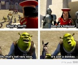 disney, donkey, and funny image