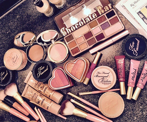 makeup, too faced, and blush image