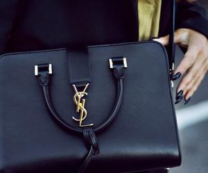 bag, YSL, and black image