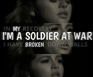 selena gomez and soldier image