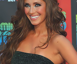Anahi, hair, and blue eyes image