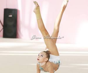 dance, flexible, and rhythmic gymnastics image