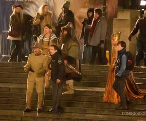 ben stiller, robin williams, and night at the museum image