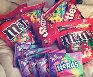 candy, nerd, and food image