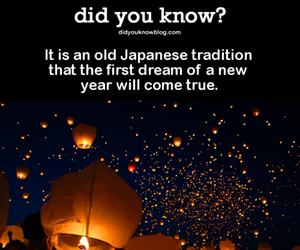 Dream, japan, and new year image