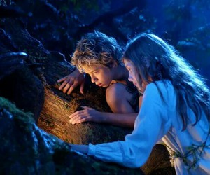 peter pan, wendy, and movie image