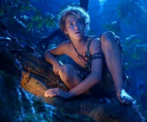 jeremy sumpter, neverland, and peter pan image