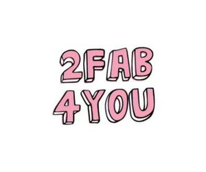 fab, pink, and quote image