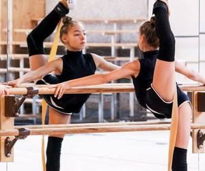 dance, dancing, and gymnastics image