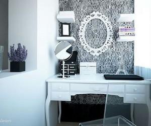 bedroom, fashion, and makeup image
