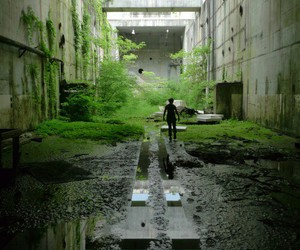 abandoned, building, and deserted image