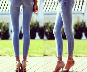 legs, jeans, and skinny image