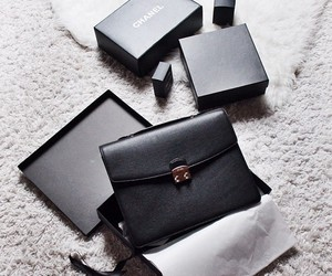 bag, chanel, and clutch image