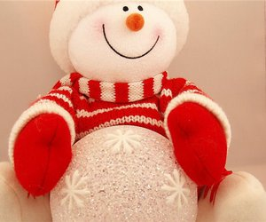 smile, snowman, and marry cristmas image
