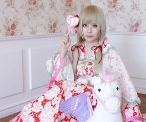 costume play, cute, and hutaba image