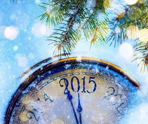 2015, new year, and snow image