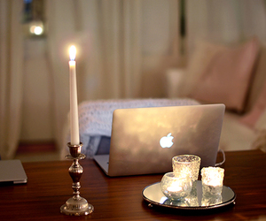 candle, home, and interior image