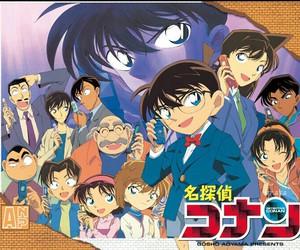 anime, meitantei conan, and detective conan image