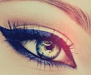 big, eyes, and girl image