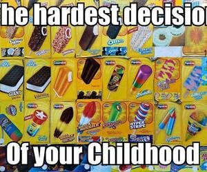 childhood, ice cream, and funny image