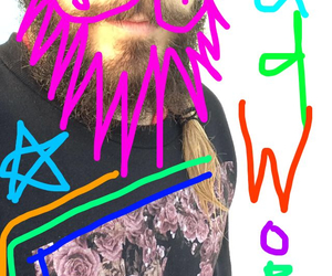 colorfull, thirty seconds to mars, and jared leto image