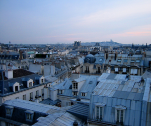 france, roof, and paris image