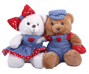 gift, teddy bear, and Valentine's Day image