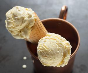 dessert, ice cream, and yum image