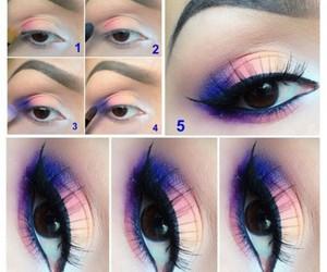 makeup, make up, and eyes image