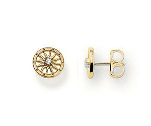 thomas sabo, earring, and gold image
