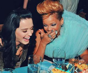 rihanna, katy perry, and friends image