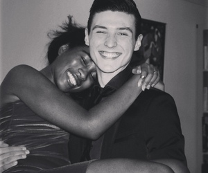 beautiful couples, interracial couples, and interracial love image